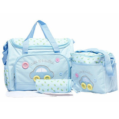 Cute as a Button Baby Tote Shoulder Diaper Bag by Baby in Motion