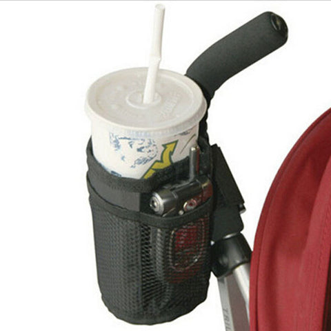 Waterproof Cup Holder with Storage for Baby Stroller by Baby in Motion