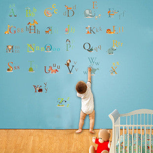 Alphabet Removable Wall Decals by Baby in Motion