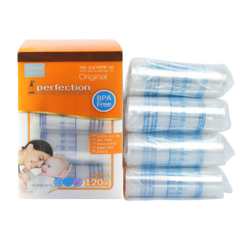 Breast Milk Storage Bags Breast by Bay in Motion