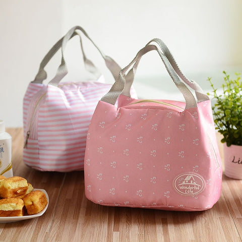 Aluminum insulation lunch bag Thermal Insulated Cooler Picnic Pouch Bag lancheira lunch box