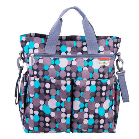 Colorful Dot Waterproof Baby Diaper Bag by Baby in Motion