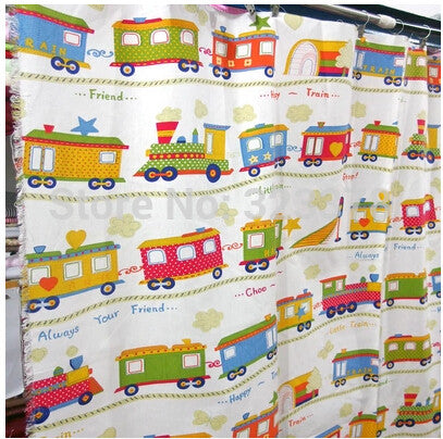 High Quality 140*100cm Car Printed Cotton Linen Fabric Baby DIY Sewing Craft Curtain Cotton Patchwork Fabric Free ship