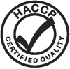 We are HACCP certified to ensure food safety and security for you.