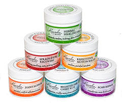 Herbal First Aid Salves