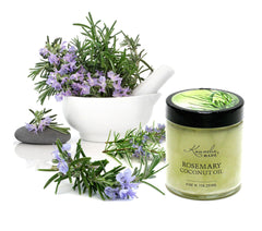 Rosemary-coconut-oil