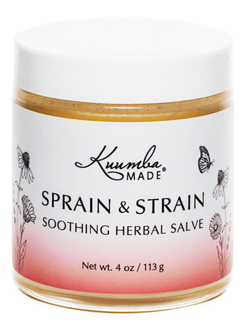 Sprain & Strain Herbal Salve - Muscle Care