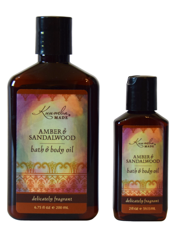 Amber & Sandalwood - Bath & Body Oil