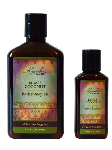 Black Coconut - Bath & Body Oil