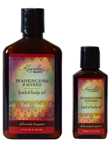 Frankincense & Myrrh - Bath & Body Oil