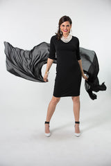 3/4 Sleeve Cocktail Dress
