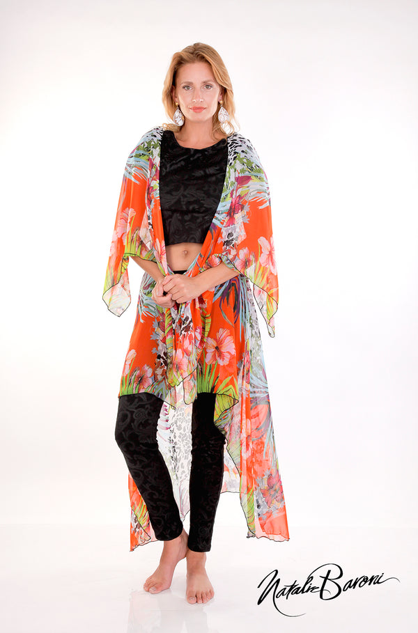 Sleeveless Long Duster - Murano