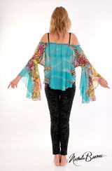 Poet Sleeve Top - Venezia