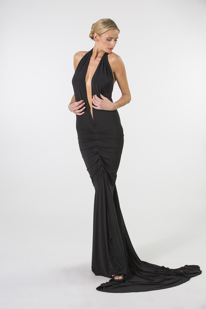 Goddess of the Night Evening Dress