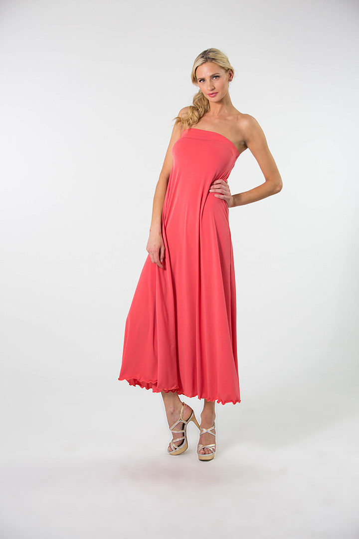 Strapless Swing Dress