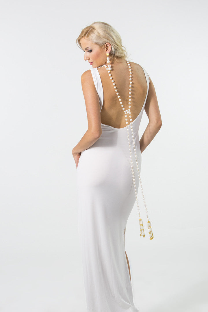 Backless Sheath Dress