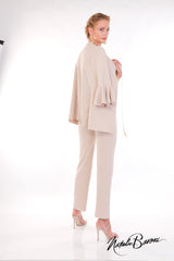 Mid Length Bell Sleeve Jacket - Amalfi