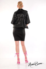 Sequin Crop Jacket - La Scala