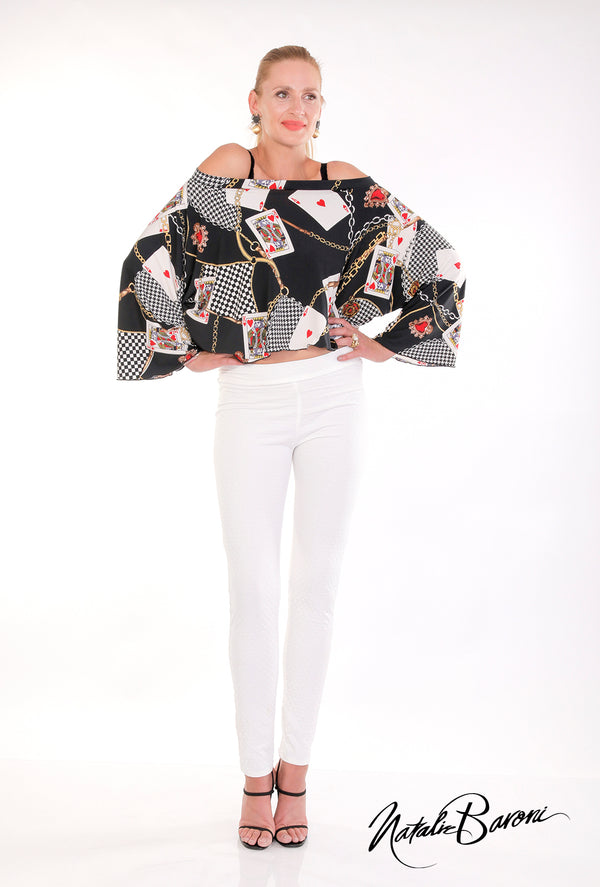 Off the Shoulder Top - San Remo