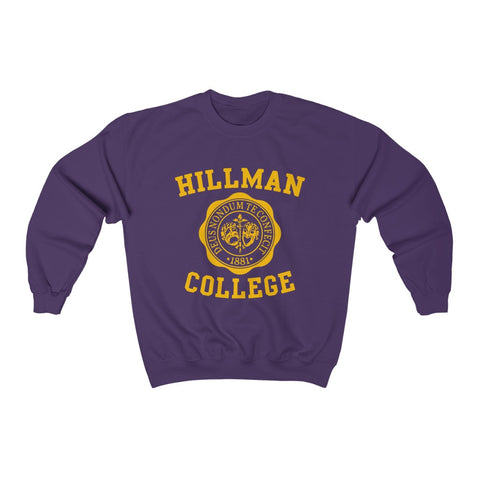 Hillman Dawgs Sweatshirt - Purple