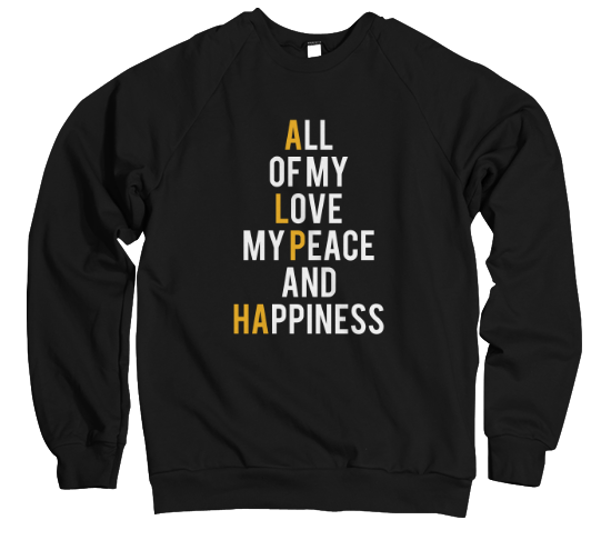 All Of My Love...(Ice Cold Edition) Sweatshirt