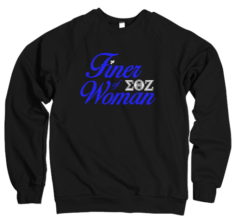 Finer Woman Chapter Sweatshirt