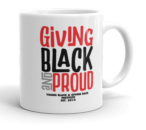 Giving Black and Proud Mug