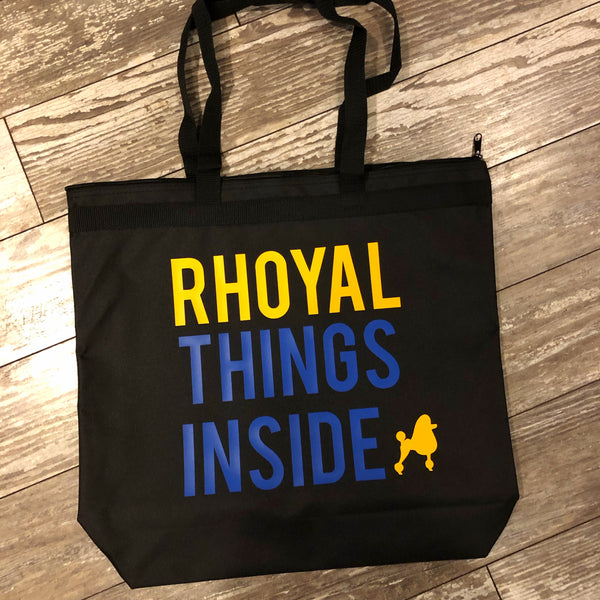 Rhoyal Things Inside Tote