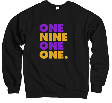One Nine One One - Bruhz Edition Sweatshirt