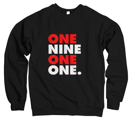 One Nine One One - Pretty Boy Edition Sweatshirt
