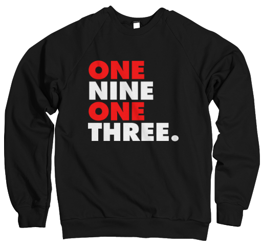 One Nine One Three Sweatshirt