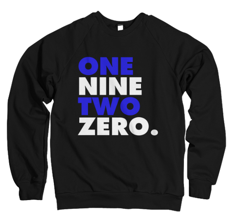 One Nine Two Zero Sweatshirt