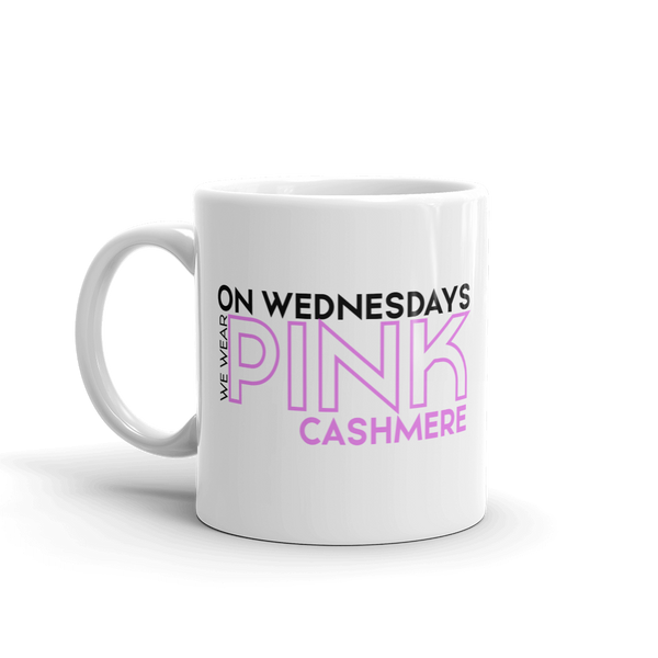 On Wednesdays We Wear Pink Cashmere Mug