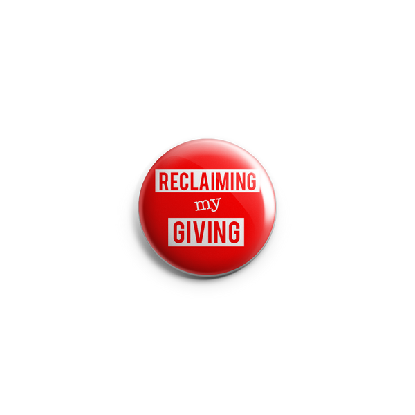 Reclaiming My Giving