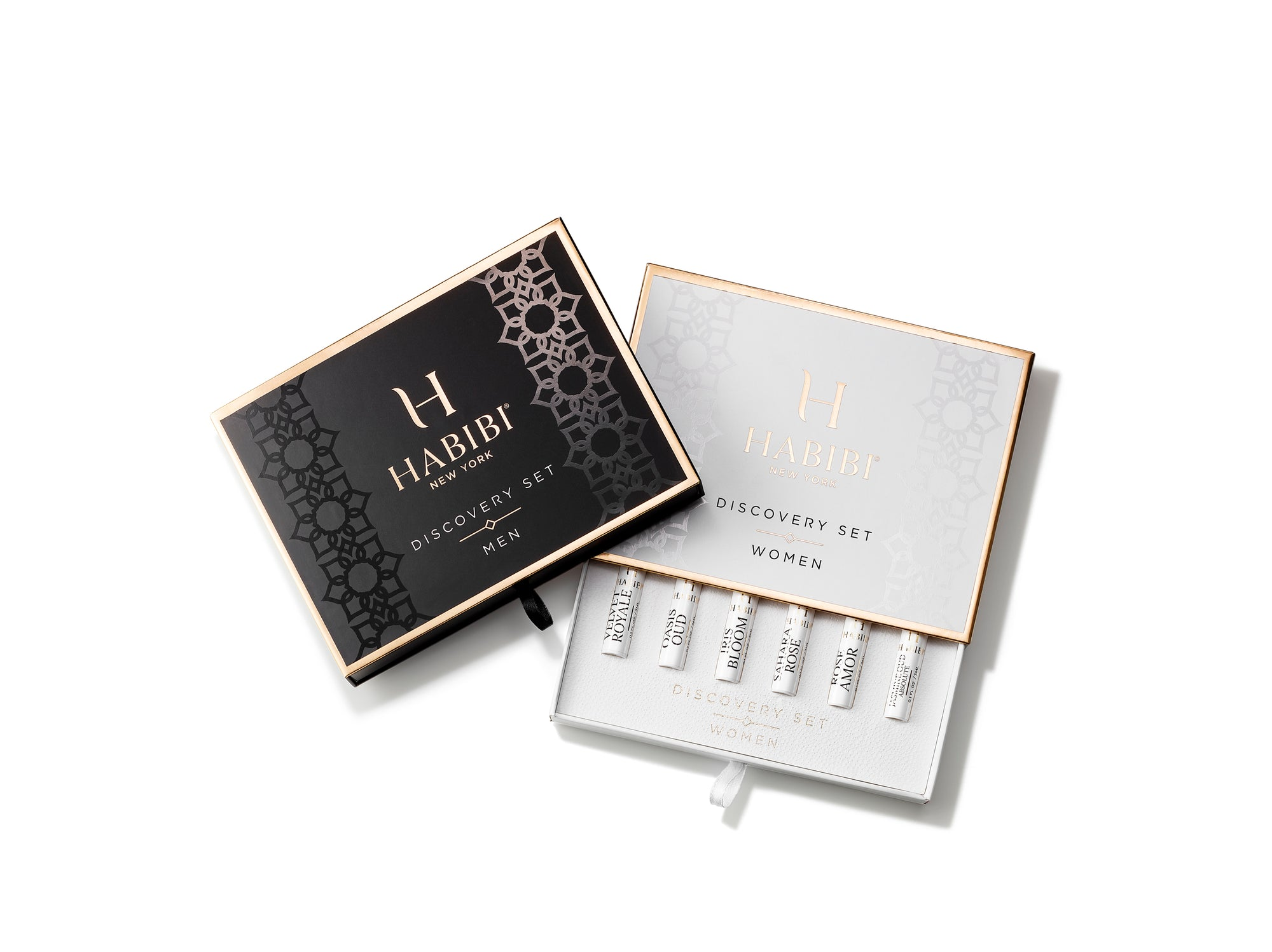 HABIBI® DELUXE MEN'S AND WOMEN'S COMBO DISCOVERY SAMPLE SET