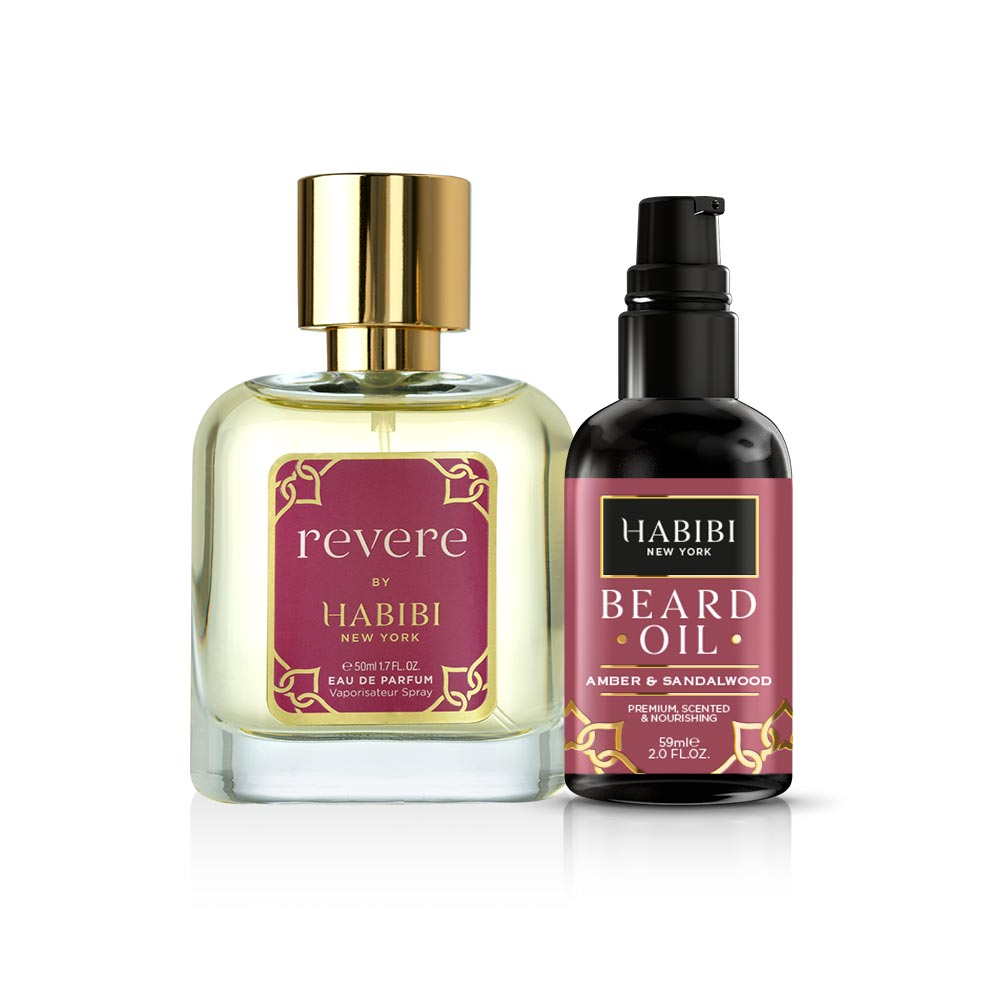 HABIBI® Revere For Him| Parfum & Amber & Sandalwood Beard Oil