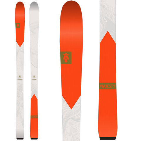 2019 Adventure W - Women's Skis (all-mountain | resort) - Majesty Skis | USA
