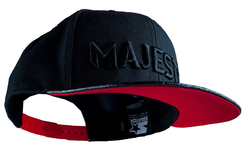 Majesty Black Star snapback baseball hat (black)