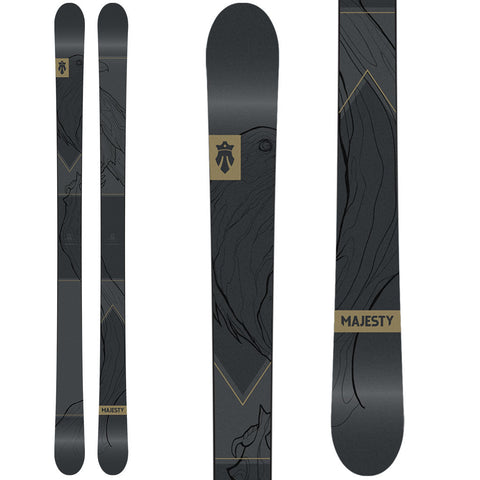 2019 Crowbar (park | pipe | urban jibbing & rails) - Majesty Skis | USA