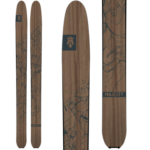 2019 Destroyer (freeride) - Majesty Skis | USA