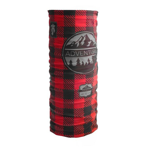Majesty Face Gaiter - Lumberjack Red