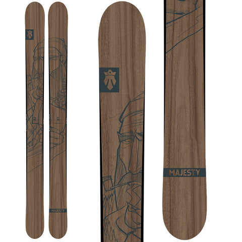 Lumberjack (powder | all-terrain) - Majesty Skis | USA