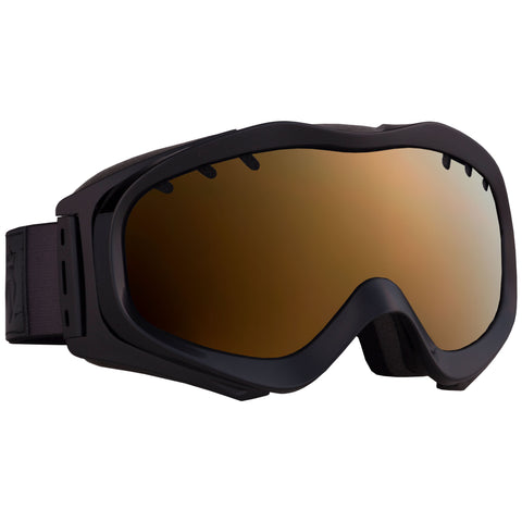 PATROL goggles Black / Bronze-Topaz + extra lens - Majesty Skis | USA