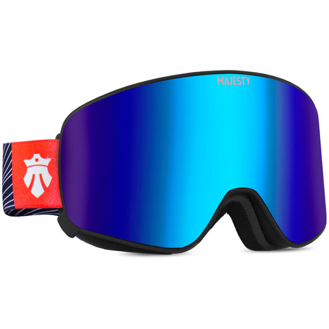 The Force C Indigo Sapphire - Cylindrical Magnetic Goggles