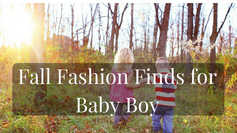 Fall Fashion Finds for baby boy