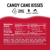 American Dream Nut Butter Candy Cane Kisses Nutrition Facts