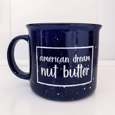 Navy 15oz Mug - American Dream Nut Butter