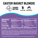 Easter Basket Blondie Almond Butter