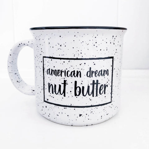 White 15oz Mug - American Dream Nut Butter