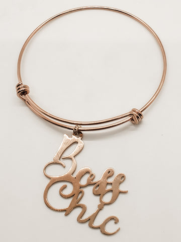 Boss Chic Charm Bangle